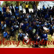 Merry Christmas from Kibera.