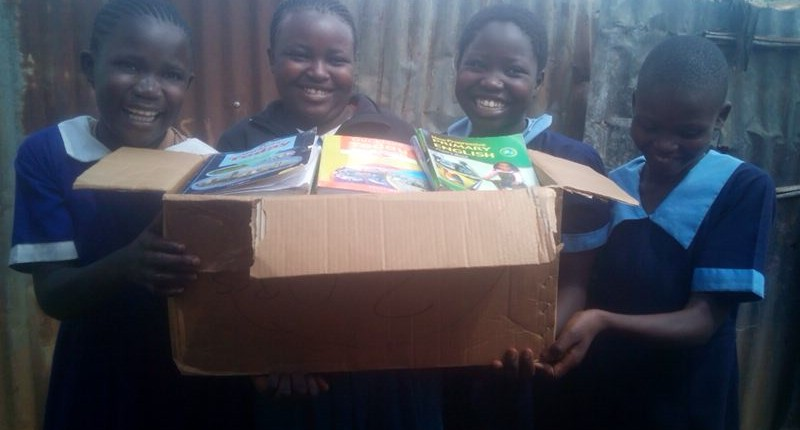 New books for the children were delivered.